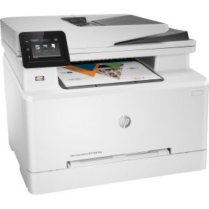 - HP FACTORY RECERTIFIED COLOR LASERJET PRO M281FDW 22PPM 600X600DPI 250-SHEET DUPLEX 256MB E-PRINT/GBE/USB/WIFI COLOR LASER PRINTER/COPIER/SCANNER/FAX SAME-AS-NEW/1YR