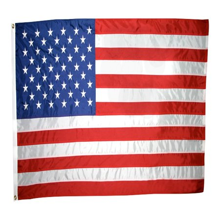 Nylon Dive Flag (American Flag 3x5 ft. Nylon , with Sewn Stripes, Embroidered Stars and Brass)