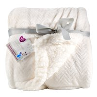 Parent's Choice Royal Plush Blanket, White