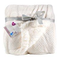 Parent's Choice Royal Plush Blanket, White