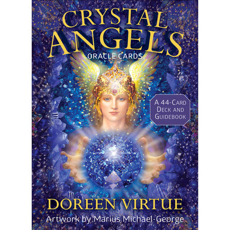 Crystal Angels Oracle Cards : A 44-Card Deck and