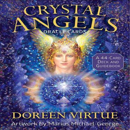 Crystal Angels Oracle Cards : A 44-Card Deck and Guidebook - Angel And Crystal