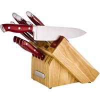 Farberware Edgekeeper 15-Piece Forged Triple-Riveted Knife Set