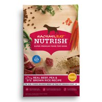 Rachael Ray Nutrish Natural Dry Dog Food, Real Beef, Pea & Brown Rice Recipe, 14 lbs