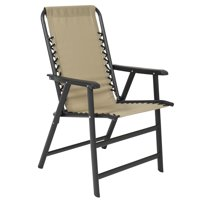 Best Choice Products Outdoor Folding Patio Sport Lounge Suspension Chair - Beige