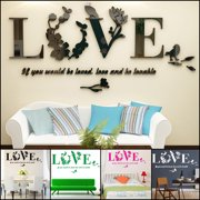Wall Decor Decal Kapmore Stickers Art Removable Mirror Room For Home