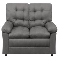 Mainstays Buchannan Upholstered Loveseat, Multiple Colors