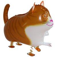 MY BALLOON STORE® TM WALKING ANIMAL PET AIR WALKER HELIUM BALLOON PARTY DECOR FUN CAT