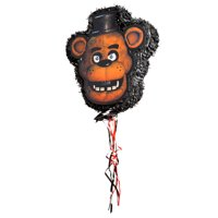 Freddy Fazbear Five Nights at Freddy's Pinata, Pull String, 18 x 17 in, 1ct