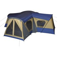 Ozark Trail 14-Person 4-Room Base Camp Tent with 4 Entrances