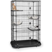 Prevue Pet Products Premium Cat Home with 4 Levels, 7500