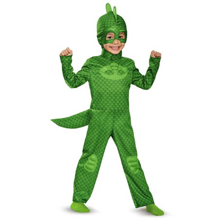 PJ Masks Gekko Classic Costume for Toddler](Alvin Costumes)