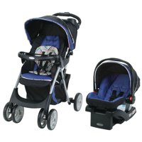 Graco Comfy Cruiser Click Connect Stroller Travel System, with SnugRide ClickConnect 30 Infant Car Seat, Lively