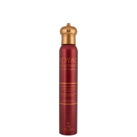 Farouk Chi - FAROUK CHI ROYAL TREATMENT ULTIMATE CONTROL WORKING HAIR SPRAY- 12oz, PACK OF 2