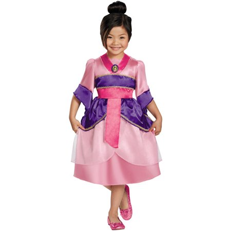 Girls' Mulan Sparkle Classic Costume - Dracula Costumes For Girls