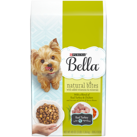 Purina Bella Natural Bites With Real Turkey Chicken Plus Vitamins