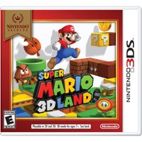 Super Mario 3D Land (Nintendo Selects), Nintendo, Nintendo 3DS, 045496744946