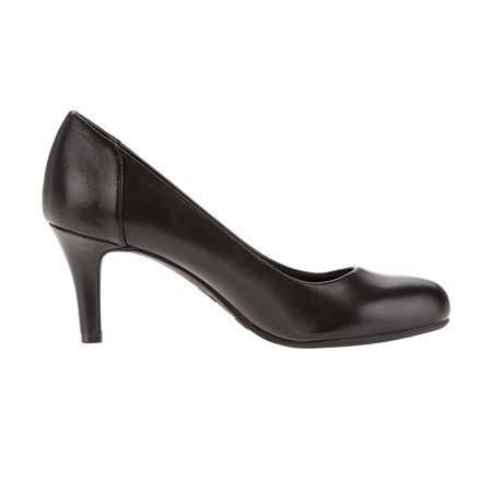 Time and Tru Women's Basic (Black Evening Shoe Classic Pump)