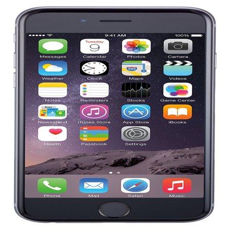 13327d4dc74144 Refurbished Apple iPhone 6 Plus 128GB, Space Gray - Unlocked GSM -  Walmart.com