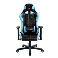 Racing Style High Back Diamond Quilted Computer Office Gaming chair with Removable Headrest and Lumbar Cushion, Multiple Colors