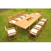 Dining Table Patio Set For 10