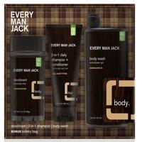 Every Man Jack Body Kit Sandalwood