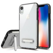 49457713c Apple iPhone XR (6.1 Inch) Phone Case Shockproof Hybrid Bumper Rubber  Silicone Cover Transparent