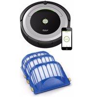 iRobot Roomba 690 Wi-Fi Robotic Vacuum + AeroVac Filter (3-Pack)