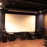 """100"""" 16:9 Manual Projector Foldable Projection Screen White HD Screen Movie Home TV Cinema"""