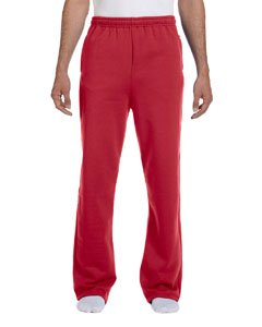 Jerzees Adult 8 oz. NuBlend® Open-Bottom Fleece Sweatpants