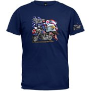 6ca3a1980 American Pride Eagle Motorcycle Flag T-Shirt