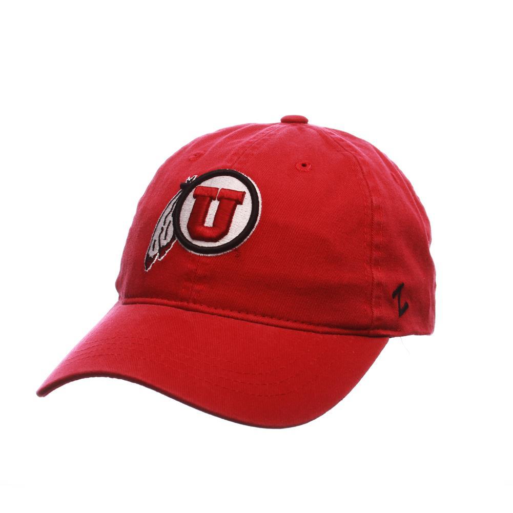 b12f09f41ce ... cheap university of utah utes zephyr scholarship adjustable hat 985ed  ffc3a