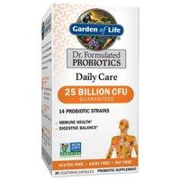 Garden of Life Dr. Formulated Daily Care Probiotics, 25 Billion CFU, 30 Ct