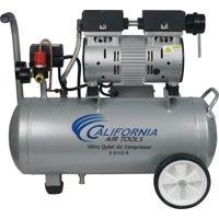 California Air Tools 5510A Ultra Quiet & Oil-Free 1.0 Hp, 5.5 Gal. Aluminum Tank Air Compressor