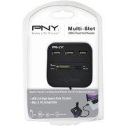 PNY Memory Card Reader and USB Hub Combo