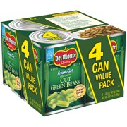 (8 Cans) Del Monte Fresh Cut Blue Lake Cut Green Beans, 14.5 oz