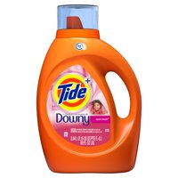 Tide plus Downy, Liquid Laundry Detergent, April Fresh, 44 Loads 69 fl oz