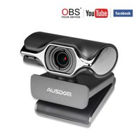 Stream Webcam 1080P Web Camera for Desktop PC Laptop Computer with Noise Cancelling Microphone USB Plug and Play for Windows Mac Skype OBS Live Streaming YouTube Twitch