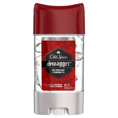Old Spice Red Zone Swagger Scent Clear Gel Antiperspirant and Deodorant for Men, 3.8 oz