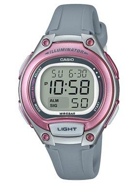 Casio Ladies Easy Reader Digital Watch, Gray