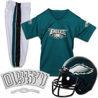 Franklin Sports NFL Philadelphia Eagles Youth Licensed Deluxe Uniform Set, Small