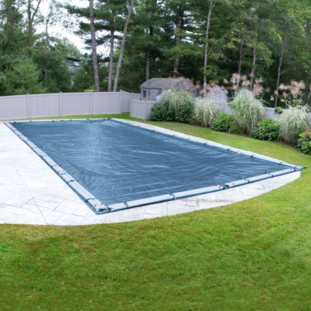 Duty Winter Pool Cover (Robelle 10-Year Heavy-Duty Rectangular Winter Pool Cover )