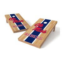TTXL Shield Hardwood College Mississippi Rebels Ole Miss Bean Bag Toss Game