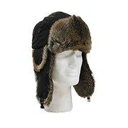 93b47f930c0 Winter Faux Fur Trapper Hat For Men   Women -Black