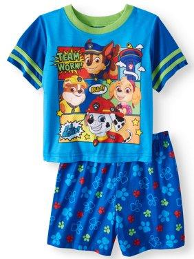 Short Sleeve Shirt & Shorts, 2pc Pajama Set (Toddler Boys)
