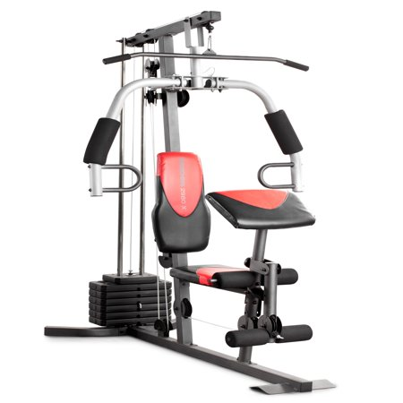 Weider 2980 Home Gym with 214 Lbs. of Resistance (Best Fitness Sportsman Gym 20 Bfmg20)