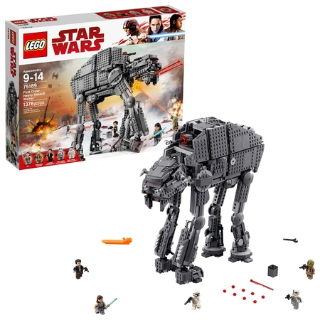 LEGO Star Wars TM First Order Heavy Assault Walker 75189 (Lego Star Wars Double Sets)