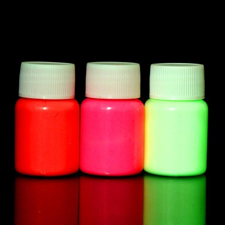 Fashion N ew Arrival 1 pc UV Glow Neon Body Paint Pigment 20ml and Fluorescent Super Bright HFON](Uv Light Body Paint)
