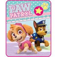 """Paw Patrol """"Pawsome Pals"""" Kids' Silky Soft 40"""" x 50"""" Throw"""