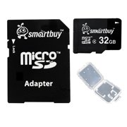 Smartbuy 32GB Micro SDHC Class 4 TF Flash Memory Card SD HC C4 Fast Speed for